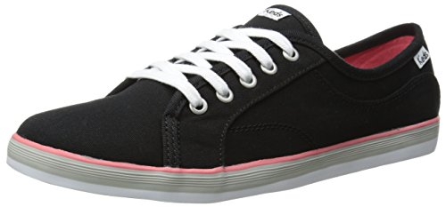 Keds Women's Coursa LTT Fashion Sneaker, Black, 8.5 - Keds Shoes Womens Star