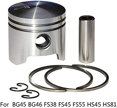 Piston Ring Circlip Trimmer Blower For Stihl BG45 BG46 FS38 FS45 FS55 HS45 HS81