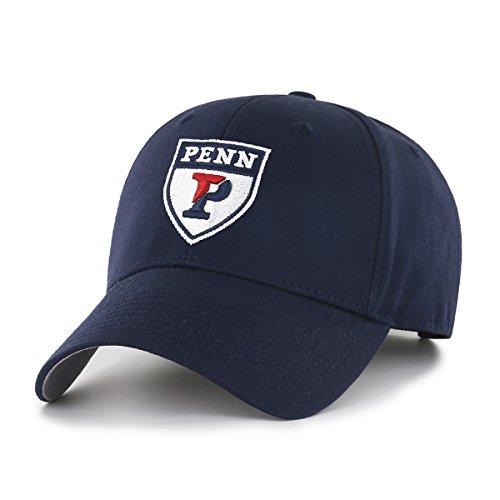 OTS NCAA Pennsylvania Quakers All-Star MVP Adjustable Hat, Navy, One Size