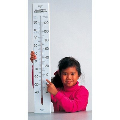 Giant Thermometer Classroom (SCBLER0399-2 - GIANT CLASSROOM THERMOMETER 30T pack of 2)