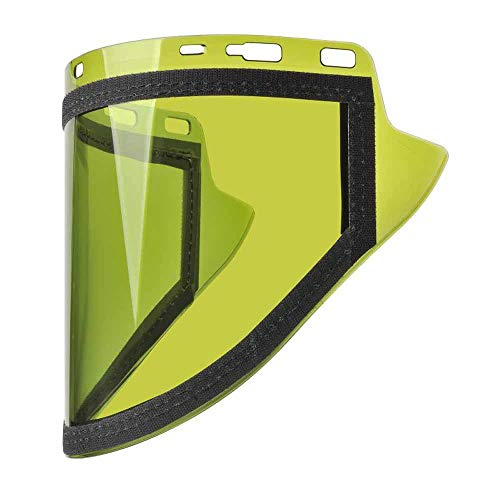 Elvex Flash-Pro Anti-Fog Molded Cylinder Polycarbonate Arc Shield, 80 Cal/Cm². PPE Cat 4 Or Higher Temperatures - FS-ARC40-V by Elvex (Image #1)