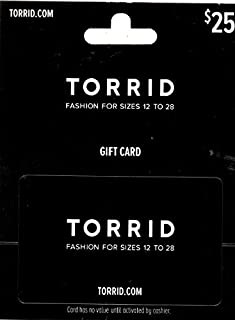 Torrid $25 Gift Card (B00S5JEJU0) | Amazon price tracker / tracking, Amazon price history charts, Amazon price watches, Amazon price drop alerts