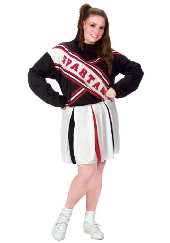 Plus Size Female Spartan Cheerleader (Female Spartan Halloween Costume)