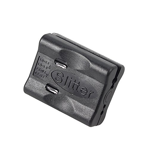 CATVSCOPE Fiber Optic Cable Cutting Tool Jacket Slitter Longitudinal Stripper Buffer Tube Stripper (Black)