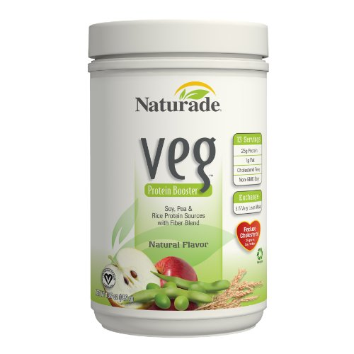 Naturade Veg Protein Booster, Natural Flavor , 15 Ounces (426 g) (Pack of 2)