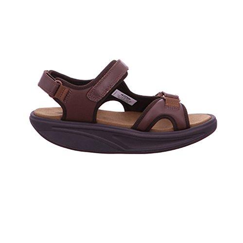 MBT Männer Kisumu 3S M Sandale Schokoladenleder