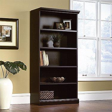 Sauder Select Library, Estate Black Finish -