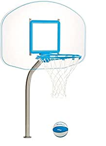 Dunnrite Regulation Clear Hoop Swimming Pool Basketball Hoop By Dunn Rite Products