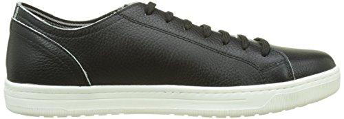 Geox Uomo Rikin, Zapatillas para Hombre Negro (Black C9999)