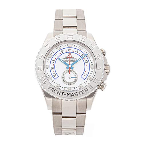 - Rolex Yacht-Master II Mechanical (Automatic) White Dial Mens Watch 116689 (Certified Pre-Owned)