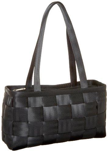 Seat Belt Bag Large Satchel (Harveys Seat Belt Bag Large Satchel,Black,)