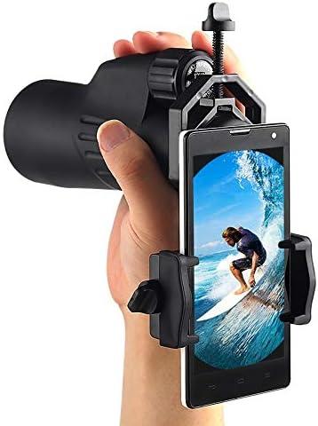 Binocular Monocular Spotting Scopes Adapter Mobile Phone Cellphone Adapter Telescopes Universal Camera Adapter New Blue-Ocean-11