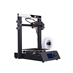 JGMAKER Magic 3d printer is a new updated 3d printer with high quality and stablity. It adopts Industrial grade silicone wire and aviation grade aluminum profile, it's a high quality printer with all metal base.LCD display with knob control m...