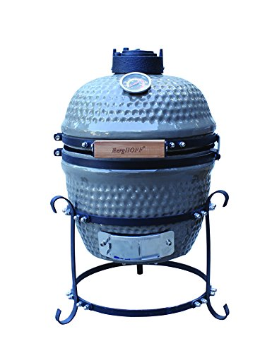 BergHOFF Studio Small Ceramic BBQ, Gray