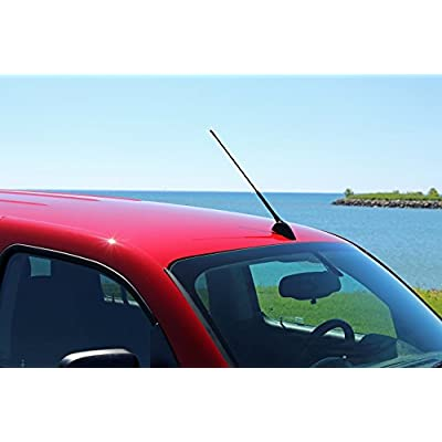 AntennaMastsRus - 16 Inch Screw-On Antenna is Compatible with Toyota Matrix (2003-2013): Automotive