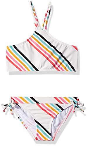 Billabong Girls' Girls' Seeing Rainbows High Neck Bikini Set Multi 10 ()