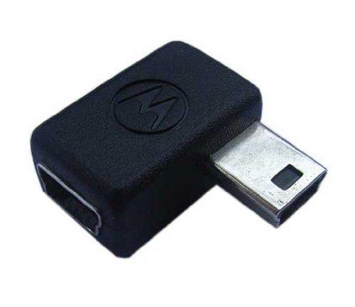 Motorola USB Emu Right Angle Port Adapter for Garmin Nuvi 680 Portable GPS Navigator