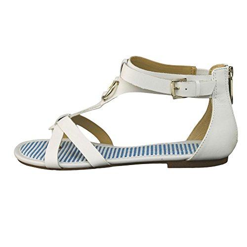 Tommy Hilfiger Shyla Women US 9.5 White Gladiator Sandal