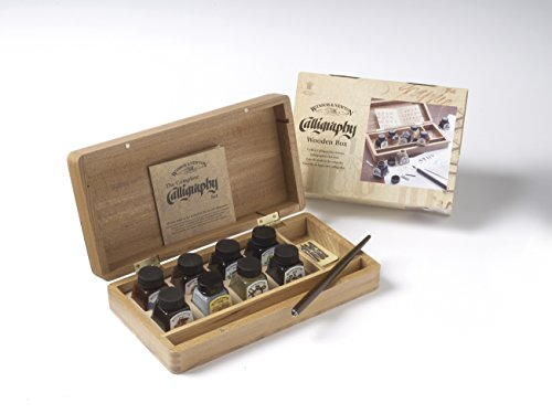 Winsor & Newton Calligraphy Wooden Box by Winsor & Newton (Image #1)