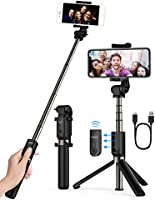 Yoozon Selfie Stick Bluetooth, Extendable Selfie Stick with Wireless Remote and Tripod Stand Selfie Stick for iPhone 8/iPhone 8 Plus/X/iPhone 7/iPhone 7 Plus/Galaxy Note 8/S8 /S8 Plus/Google/Nexus/Pixel & More