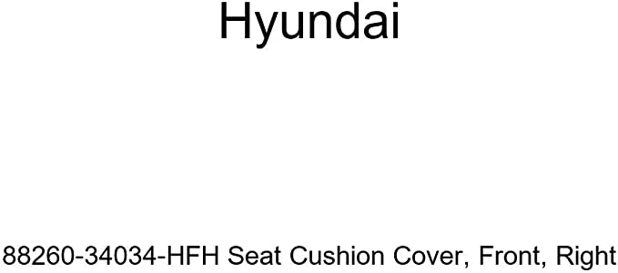 Right Genuine Hyundai 88260-34034-HGH Seat Cushion Cover Front