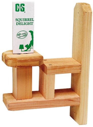 C and S Products Squirrel Chair, 6-Piece, My Pet Supplies