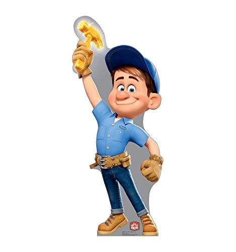 Advanced Graphics Fix-It Felix, Jr. Life Size Cardboard Cutout Standup - Disney's Wreck-It Ralph -