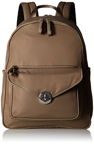 Granada Laptop Backpack Walnut Backpack, Walnut, One Size by Baggallini