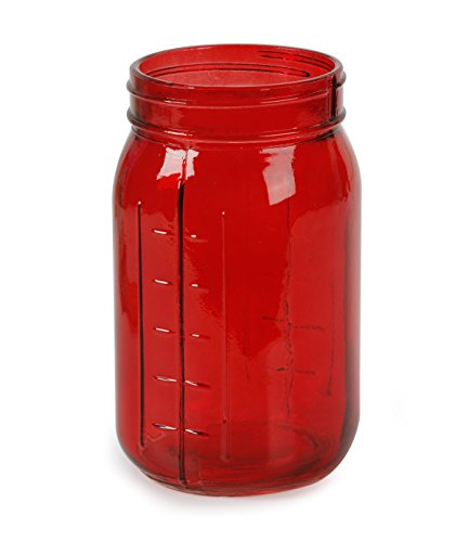 Darice DC-7690-02 Glass Mason Jar Transparent 6 5 3 5 Times