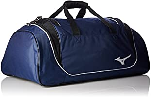 3df3a08e4c78 Mizuno Team Duffle Bag, 26 x 14 x 14-Inch, Navy/Black: Amazon.com ...