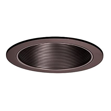WAC Lighting R-620-CB 6-Inch Recessed Trim with Step Baffle Baffle  sc 1 st  Amazon.com & WAC Lighting R-620-CB 6-Inch Recessed Trim with Step Baffle Baffle ...