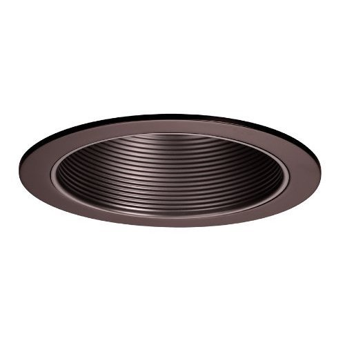 WAC Lighting R-620-CB 6-Inch Recessed Trim with Step Baffle Baffle/Trim, Copper Bronze
