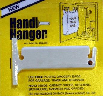 Amazoncom Handi Hanger Trash Bag Holder Home Kitchen