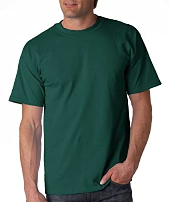 Gildan Adult Ultra Cotton T-Shirt, Forest Green, XXX-Large. 2000