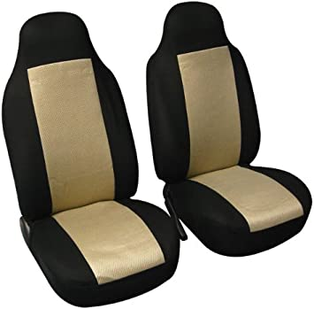 11pc Seat Covers Black Classic Rubber Mats S-Cargo Set New Universal for Jeep