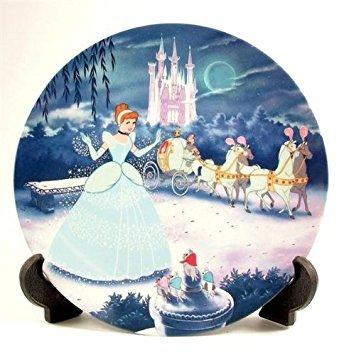(Bradford Exchange Knowles Cinderella Disney Treasured Moments Plate CP390)