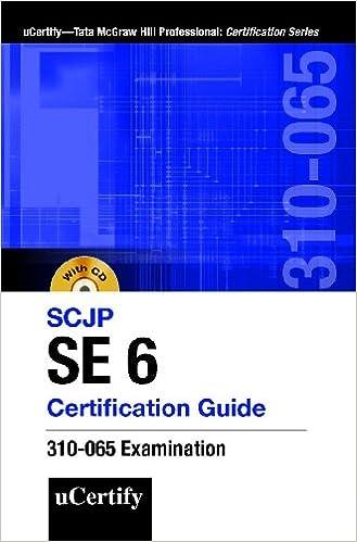 Buy Sun Certified Java Programmer, Se 6 Certification Guide Cx 310 ...
