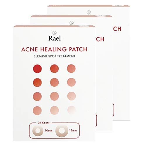 Rael Hydrocolloid Acne Pimple Healing Patch (3 Pack)