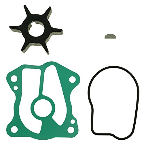 GHmarine New Water Pump Impeller Service Kit for Honda BF20A BF25D BF30D 06192-ZV7-000 (Bf25a Replacement)
