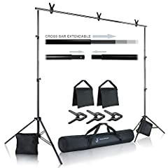 Julius Photo Studio Background Support KitJulius Studio's background muslin support kit features easy & quickinstallation, portability, and whole photo studio package. Its premiumquality will bring professional and amateur photographers g...