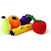 Shumee Eco Friendly Bag-o-Fruits (0 Years+) - Pretend and Play Toys