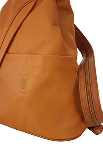 9423499593114 ... Sa-Lucca echt Leder Damenrucksack City-Rucksack Handtasche Damentasche  MADE IN ITALY
