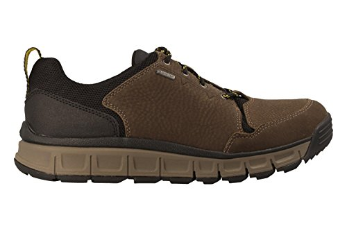 Clarks Détente Homme Chaussures Edlund Base Gore-Tex® en Nubuck Vert Taille 44