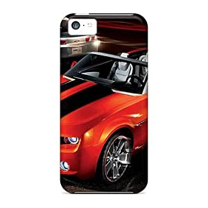 New Tpu Hard Case Premium ipod touch4 Skin Case Cover(camaro)