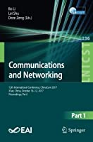 Communications and Networking: 12th International Conference Front Cover