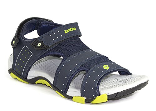 15cac7f48 Lotto Men s Navy Grey Sandals and Floaters  Buy Online at Low Prices in  India - Amazon.in