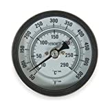 Industrial Grade 1NFY3 Thermometer, Dial Size 3 In, 50 to 550 F