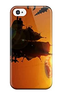 NgOsMJv768zrMnq Case Cover Steamworld Heist Iphone 4/4s Protective Case