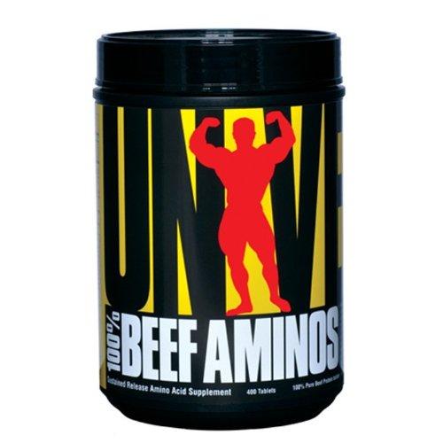 Universal Nutrition Aminos boeuf 100%, 400 Comprimés