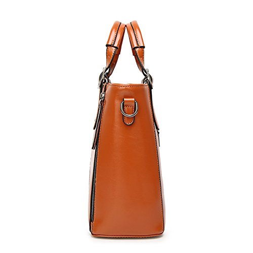 Casual Shoulder Business Messenger Bag Bag Brown Lady Bag Fashion q7tS6xdd
